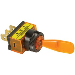 BATTERY DOCTOR 20502 On/off Illuminated 20-Amp Toggle Switch (Am
