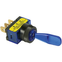 BATTERY DOCTOR 20503 On/off Illuminated 20-Amp Toggle Switch (Bl