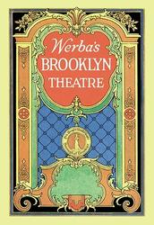 Category: Dropship Fine Art, SKU #06744-6 C2436, Title:  Werba's Brooklyn Theatre (Canvas Art)
