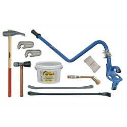 Category: Dropship Tools And Hardware, SKU #KEN35444, Title: Deluxe Blue Cobra Truck Tire Service Set