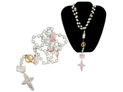 Category: Dropship Religious, SKU #BG354-32, Title: bless this marriage rosary ( Case of 32 )