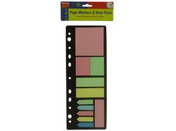 Category: Dropship School & Office Supplies, SKU #GH401-96, Title: Sticky Page Markers and Note Pads ( Case of 96 )