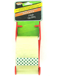 Category: Dropship School & Office Supplies, SKU #MR037-72, Title: Packing Tape with Dispenser ( Case of 72 )