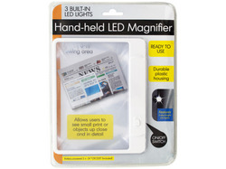 Category: Dropship School & Office Supplies, SKU #OD835-36, Title: Hand-held LED Magnifier ( Case of 36 )
