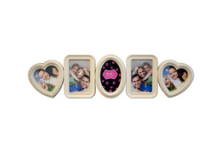 Category: Dropship Hobby, SKU #OF942-36, Title: Connected Hearts Photo Frame ( Case of 36 )