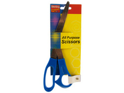 Category: Dropship School & Office Supplies, SKU #OS020-72, Title: Blue All Purpose Scissors ( Case of 72 )