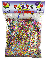 Category: Dropship Party Supplies, SKU #PA094-96, Title: Jumbo Metallic Confetti Pack ( Case of 96 )