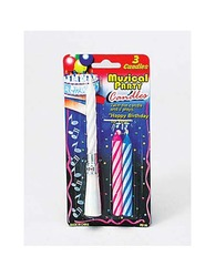 Category: Dropship Party Supplies, SKU #PB199-96, Title: Musical Party Candles ( Case of 96 )