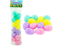 Category: Dropship Seasonal, SKU #SA338-96, Title: Plastic Easter eggs ( Case of 96 )