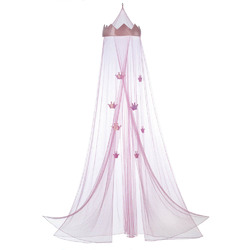 Category: Dropship Bedding & Bath, SKU #10016377, Title: Pink Princess Bed Canopy