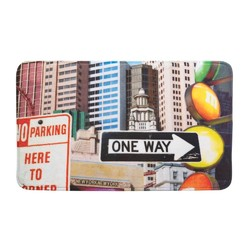 Category: Dropship Doormat, SKU #10017398, Title: City Traffic Signs Floor Mat
