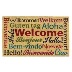Category: Dropship Doormat, SKU #10018141, Title: Multi-Lingual Welcome Mat