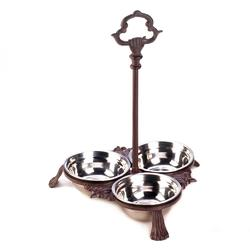 Category: Dropship Pet Product, SKU #10018284, Title: Cast Iron Pet Bowls With Handle