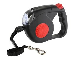 Category: Dropship Pet Product, SKU #12010890, Title: Retractable Dog Leash With Light