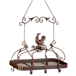 Category: Dropship Kitchenware, SKU #12657, Title: Country Rooster Kitchen Rack