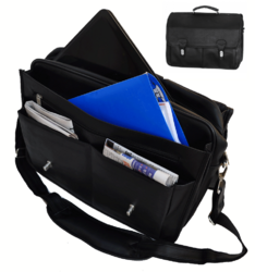 Category: Dropship Travel & Bags, SKU #CA-9002, Title: Corporate Laptop Briefcase