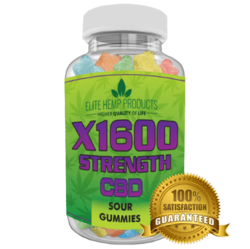 Category: Dropship Groceries, SKU #EG137, Title: Hemp Gummy Bears x1600 Strength