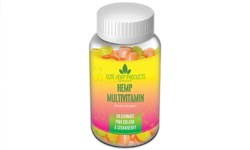 Category: Dropship Groceries, SKU #Hemp-PCS, Title: Elite Hemp Multivitamin Pina Colada & Strawberry