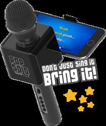 Category: Dropship Gadgets, SKU #POPSOLO- 4955, Title: Wireless Bluetooth PopSolo Karaoke Microphone