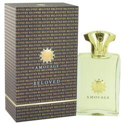 Category: Dropship Fragrance & Perfume, SKU #518483, Title: Amouage Beloved by Amouage Eau De Parfum Spray 3.4 oz (Men)