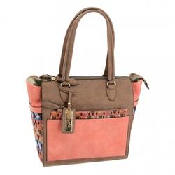 Category: Dropship Security & Protection, SKU #49134, Title: Aztec CCW Handbag, Brown