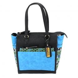 Category: Dropship Security & Protection, SKU #49135, Title: Aztec CCW Handbag, Blue
