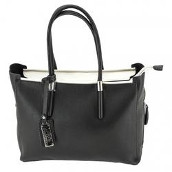 Category: Dropship Security & Protection, SKU #49136, Title: Calypso CCW Handbag, Black/White