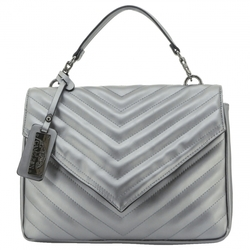 Category: Dropship Security & Protection, SKU #49143, Title: Aria CCW Handbag, Silver