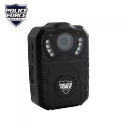 Category: Dropship Observation & Security, SKU #PFBCPHD, Title: Police Force Tactical Body Camera Pro HD