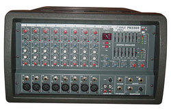Category: Dropship Musical Instruments, SKU #RBPMX804, Title: 8 Channel 400 Watts Professional Powered PA Mixer/Amplifier