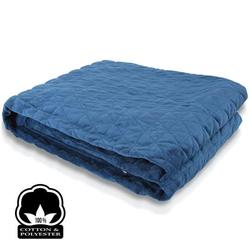 Category: Dropship Exercise & Fitness, SKU #SLHVBLKT20, Title: Gravity Weighted Blanket for Better Sleep, Anti- Anxiety, Stress and Insomnia