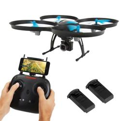 Category: Dropship Gadgets, SKU #SLRD42WIFI, Title: WiFi Drone Quad-Copter Wireless UAV with HD Camera + Video Recording