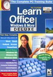 Category: Dropship Education & Reference, SKU #138878, Title: PC Tutor Learn Office Windows & More Deluxe