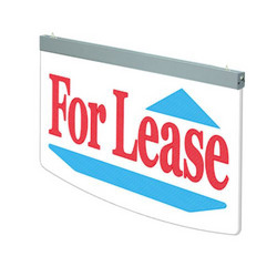 Category: Dropship General Merchandise, SKU #365691, Title: Actiontek Acrylic LED Sign, For Lease