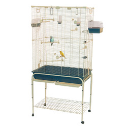 Category: Dropship Pet Supplies, SKU #411076, Title: Marchioro Delfi 82 Birdcage for Canaries and Small Parrots (67 x 32.25 x 20)