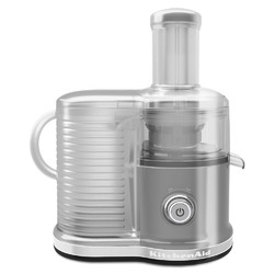 Category: Dropship Cables & Adapters, SKU #432091, Title: KitchenAid Easy Clean Juicer (fast juicer), Contour Silver  KVJ0333CU