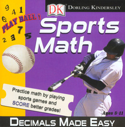 Category: Dropship Education & Reference, SKU #43292, Title: Sports Math - Decimals Made Easy