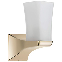 Category: Dropship Cables & Adapters, SKU #595347, Title: Delta Faucet Delta 75270 Tesla Bathroom Sconce Light LAMP Brilliance Polished Nickel