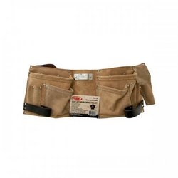 pearlbedding Heavy Duty Double Pocket Tool Belt (pack of 1)