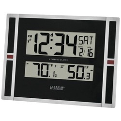 dropshipping La Crosse Technology Indoor And Outdoor Thermometer & Atomic Clock (pack Of 1 Ea)