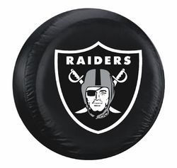 Category: Dropship Types, SKU #2324598404, Title: Las Vegas Raiders Tire Cover Standard Size Black