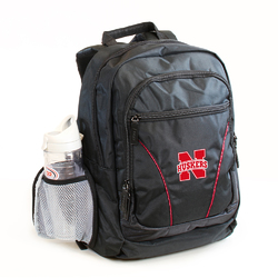 Category: Dropship Closeout Items, SKU #629318262, Title: Nebraska Cornhuskers Backpack Stealth Style