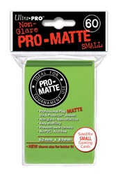 Category: Dropship Displays & Supplies, SKU #7442784272, Title: Deck Protector, Pro Matte - Small Size - Lime Green (10 pks of 60 per disp)