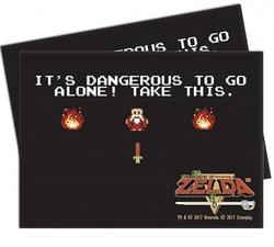 Category: Dropship Displays & Supplies, SKU #7442785443, Title: Deck Protector Zelda Dangerous - Special Order