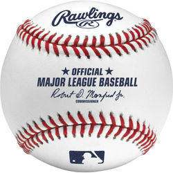 Category: Dropship Sports Fan, SKU #8332153106, Title: Rawlings MLB Baseball Manfred Case of 12 Special Order
