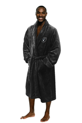 Category: Dropship Types, SKU #8791805160, Title: Las Vegas Raiders Bathrobe Size L/XL