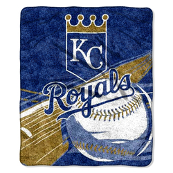 Category: Dropship Obsolete, SKU #8791889277, Title: Kansas City Royals Blanket 50x60 Sherpa Big Stick Design Special Order