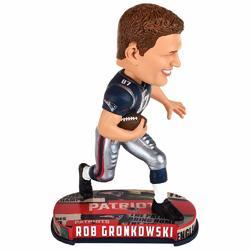 Category: Dropship Obsolete, SKU #9016393998, Title: New England Patriots Bobble Headline Style Rob Gronkowski Design