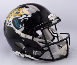 Category: Dropship Special Order, SKU #9585530986, Title: Jacksonville Jaguars Helmet Riddell Authentic Full Size Speed Style 2018