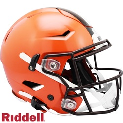 Category: Dropship New Arrivals, SKU #9585531029, Title: Cleveland Browns Helmet Riddell Authentic Full Size SpeedFlex Style 2020